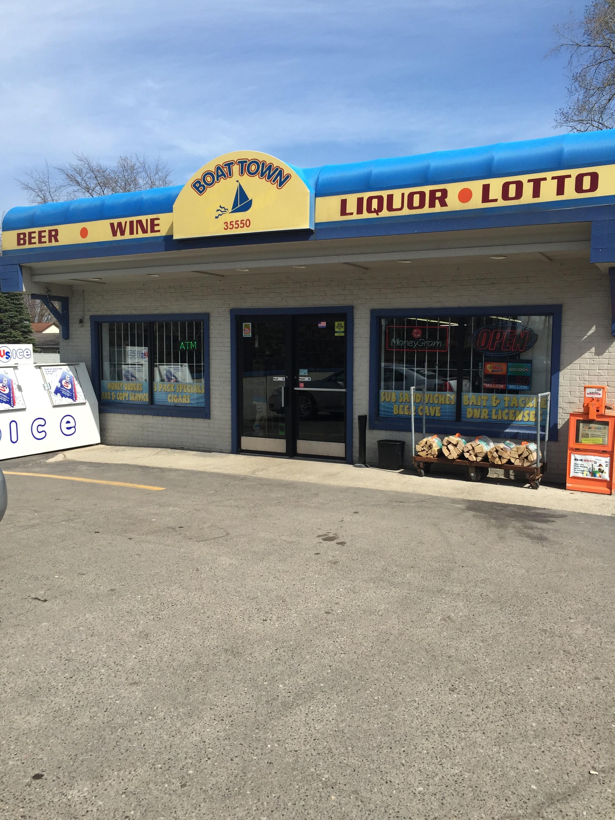 boat town liquor, harrison township