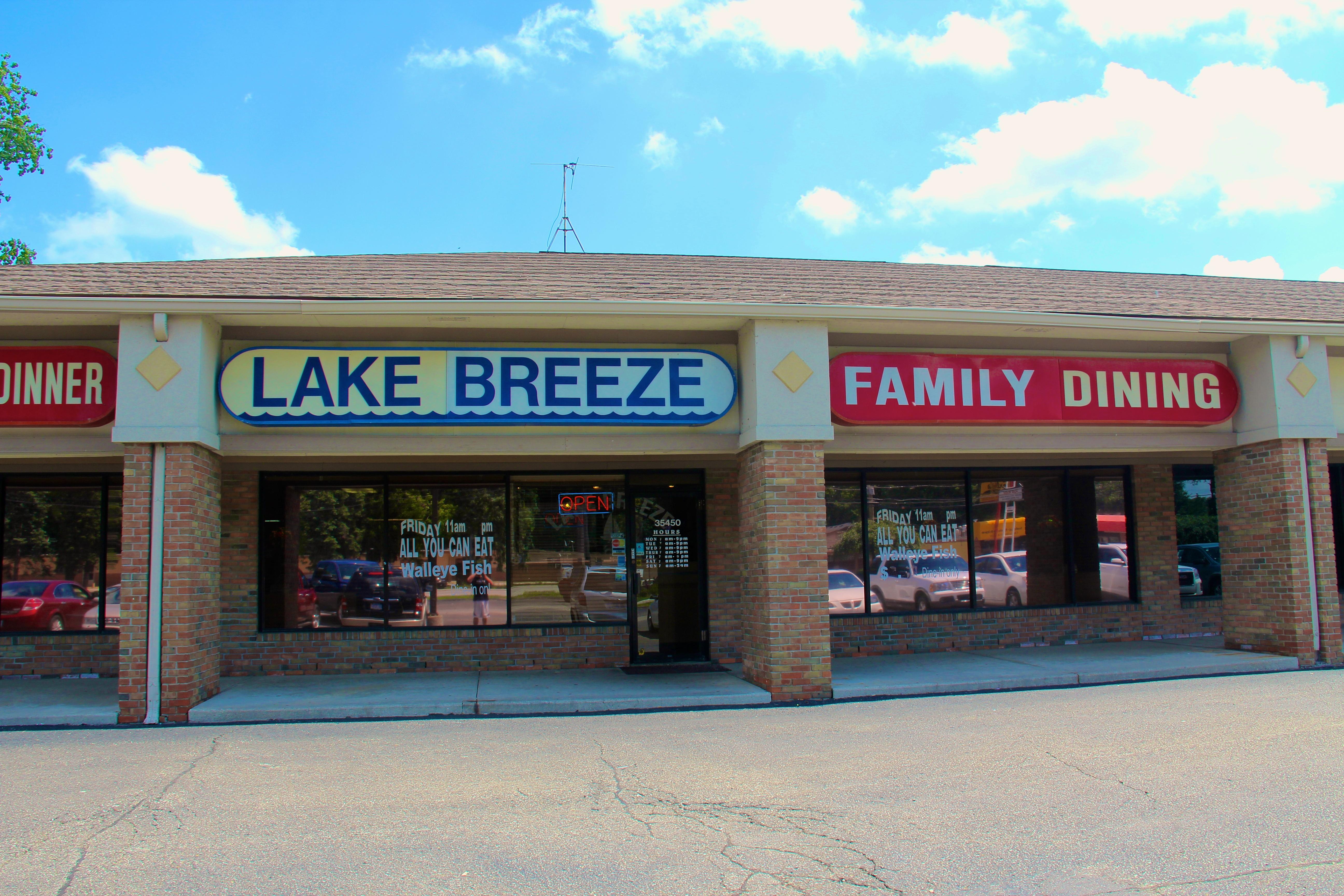 lake breeze restaurant, harrison township