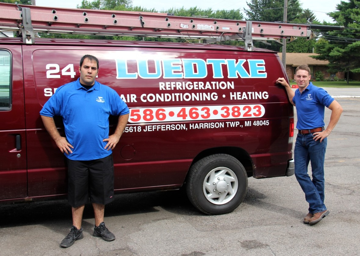 luedtke heating and cooling, harrison township