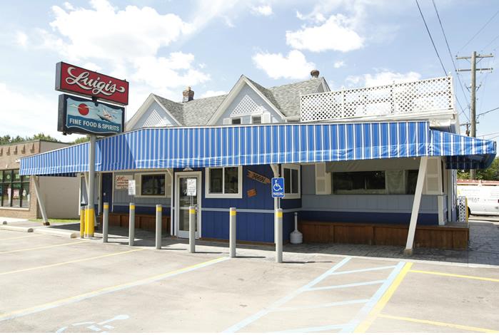 luigis restaurant, harrison township