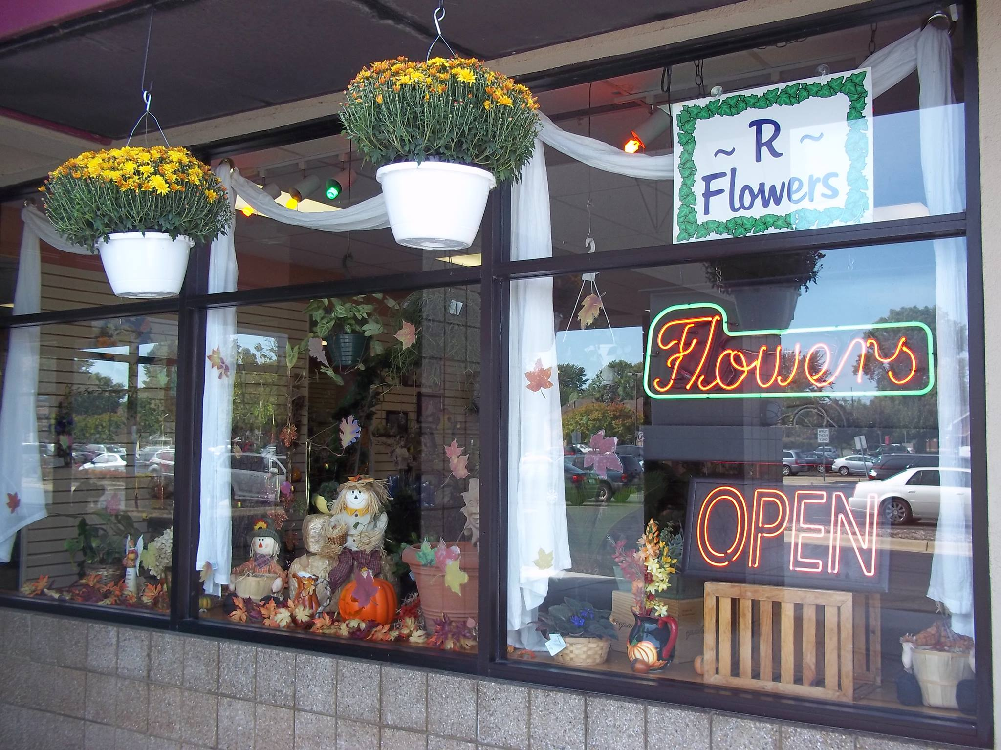 r flowers, harrison township
