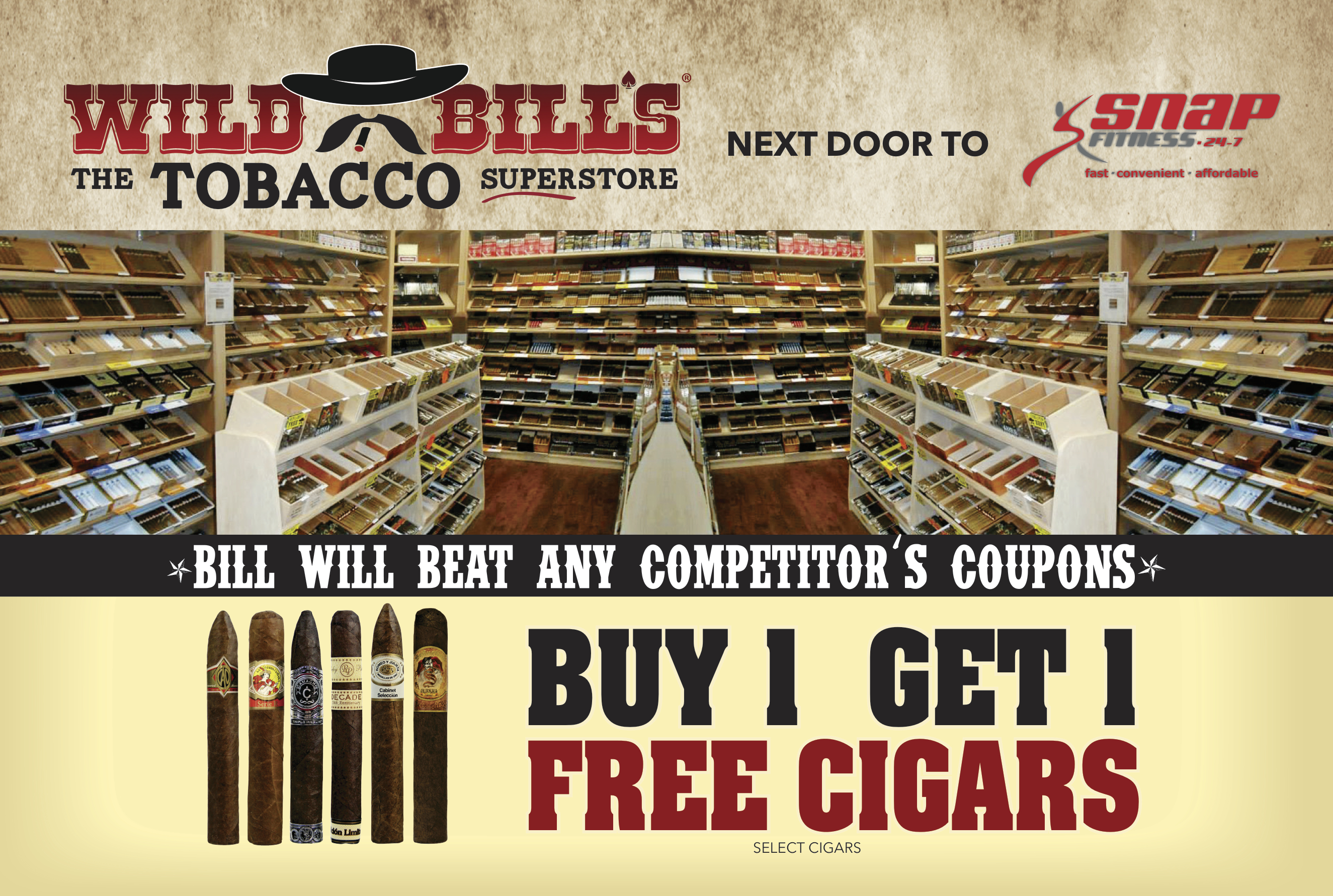 wild bills tobacco, harrison township