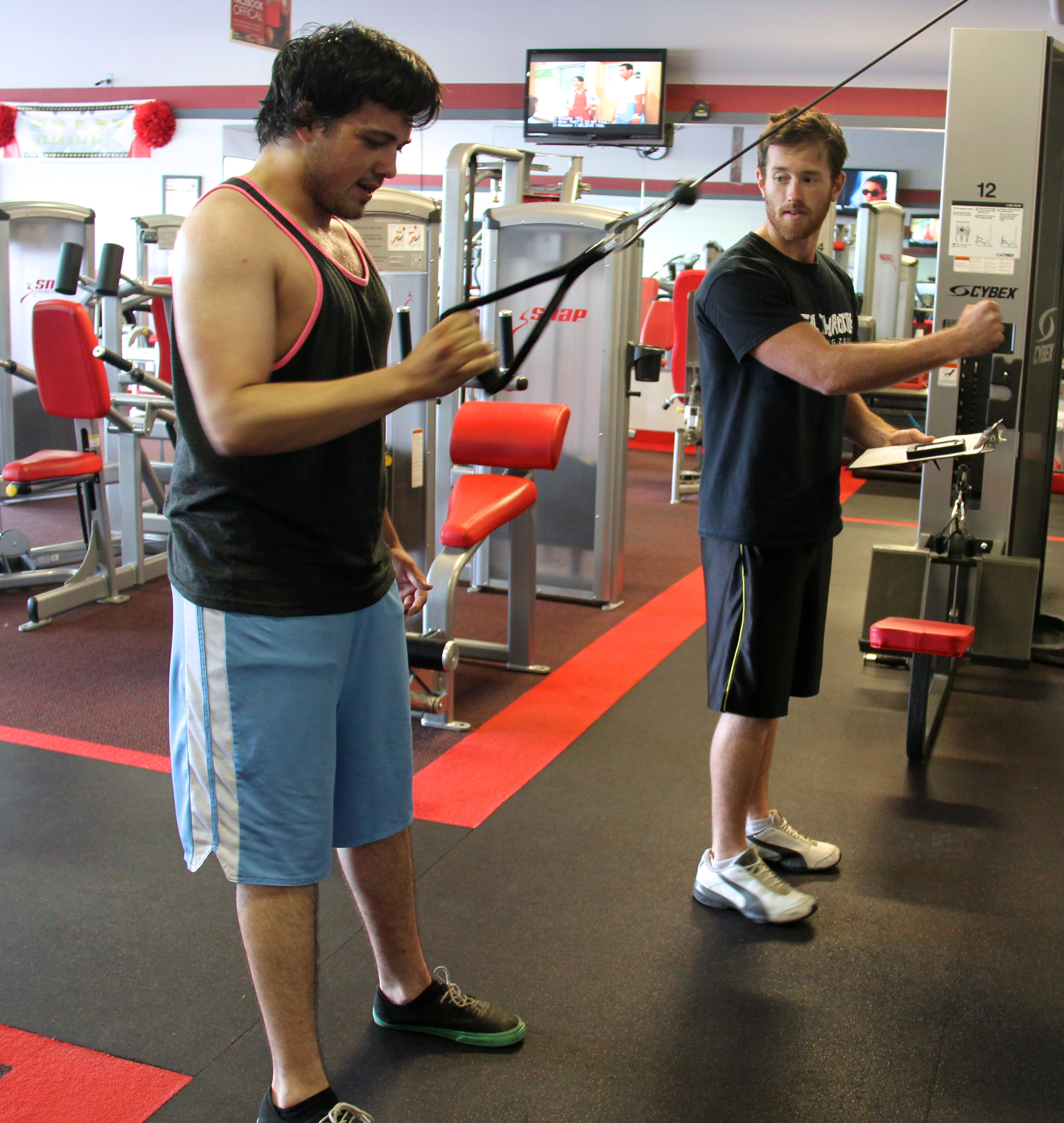 personal training, personal training in harrison township, gym in harrison township